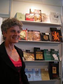 Научный сотрудник Национальной библиотеки Гана Вайнерова (Фото: Лорета Вашкова, Чешское радио - Радио Прага)