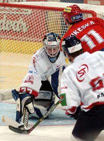 В хоккейной Встрече звезд сборная чешской экстра лиги победила словацкую команду со счетом 14:6 (Фото: ЧТК)