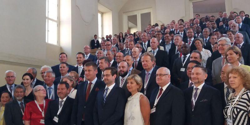 La réunion des consuls honoraires de la République tchèque dans le monde, photo: Anna Kubišta