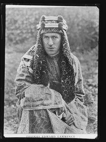 Lawrence von Arabien (Quelle: Archiv der norwegischech Nationalbibliothek, Public Domain)
