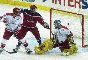 В воскресенье сборная России сыграла с датской командой (Фото: ЧТК)