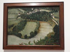 Josef Šíma 'Sázava' (Le paysage), 1923, photo: Anna Kubišta