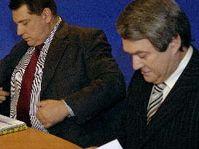 Jiří Paroubek a Vojtěch Filip, foto: ČTK