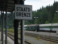 Česko-německá hranice, foto: Wolfgang Stief, Flickr, CC0 1.0