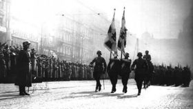 German troops in Prague in 1939, photo: archive of Radio Prague