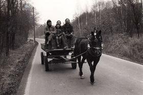 Rodina Chnapkova, 80.léta, foto: Post Bellum