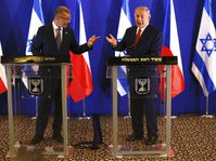 Andrej Babiš and Benjamin Netanyahu, photo: ČTK / AP Photo / Ariel Schalit, Pool