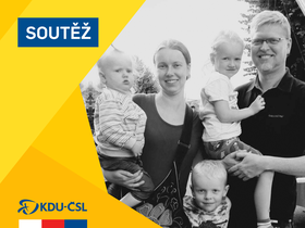 Pavel Bělobrádek et sa famille, photo: FB KDU-ČSL