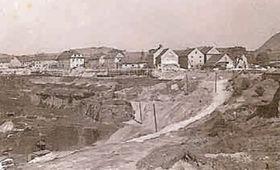 Střimice, foto: Archivo del Museo Regional de Most