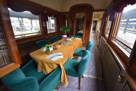 Президентский поезд, фото: Ондржей Томшу