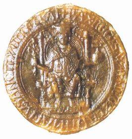 Majestátní pečeť krále Václava I., 1233