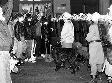 The protests in Teplice, November 11-13 1989, photo: Archive of Pavel Žáček, www.ustrcr.cz