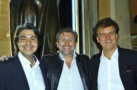 Selcuk Cara, Andreas Schager und Matthias Fletzberger (Foto: Archiv des Nationaltheaters in Prag)