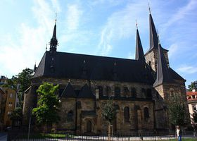 L'église Saint-Pierre de la Nouvelle ville, photo: Štěpánka Budková