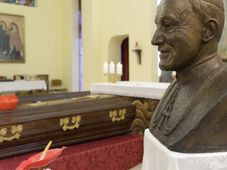 Cardinal Josef Beran, photo: CTK