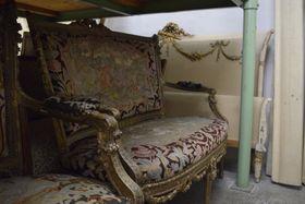Un sillón de la película Amadeus, foto: Ondřej Tomšů