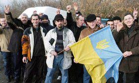 За Украину переживают и в Праге (Фото: ЧТК)