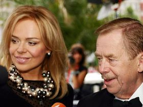 Dagmar Havlová, Václav Havel, photo: Jan Rosenauer