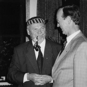 Horst Kaller (à gauche), photo: www.aktualne.cz