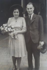 Lisa Miková with her husband, photo: archive of Lisa Miková