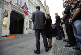 Embajada de Noruega en Praga, foto: ČTK