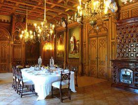 Großer Speisesaal (Foto: Archiv der staatlichen Denkmalschutzbehörde)