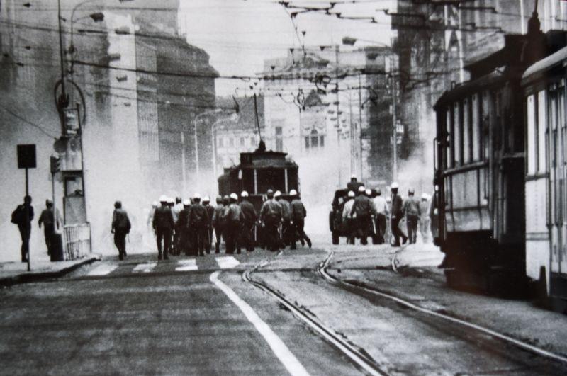 Протесты в августе 1969 года, фото: Музей полиции ЧР