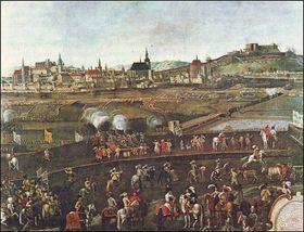 Za časů Třicetileté války, obléhání Brna Švédy (1645)