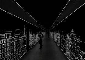 Vizualizace spojovací chodby mezi historickou anovou budovou Národního muzea, zdroj: archiv Národního muzea
