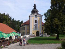 Zámek ve Ctěnicích, foto: Přemysl Otakar, CC BY-SA 4.0