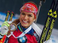 Gabriela Koukalová, photo: CTK