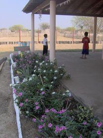 Patio de la escuela (Foto: autora)