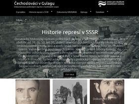 Czechoslovaks in the Gulag website