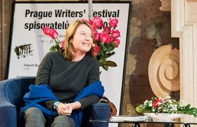 Magdalena Platzová, photo: Site officiel de Prague Writers' Festival