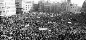 1989 in Ostrava (Foto: Archiv des Projektes Moderní dějiny)