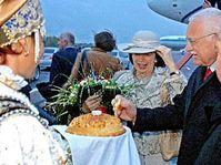 Le président Vaclav Klaus à Omsk, photo: CTK