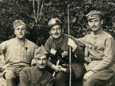 František Krejčí (2. von links). Quelle: Archiv Post Bellum