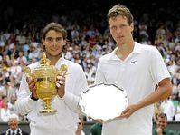 Rafael Nadal, Tomáš Berdych, photo: CTK