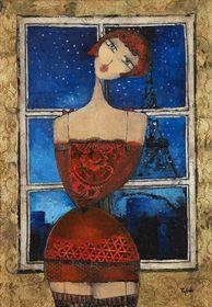 Tylek, 'Parisienne', photo: Galerie La Femme