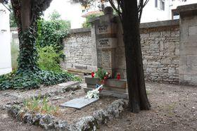 Hrob Františka Kouckého aLjubomíra Krause vchorvatské Pule, foto: Ministerstvo obrany ČR