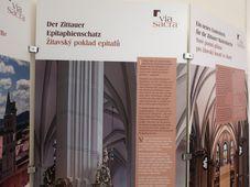 Ausstellung über die Zittauer Fastentücher und über Via Sacra (Foto: Martina Schneibergová)