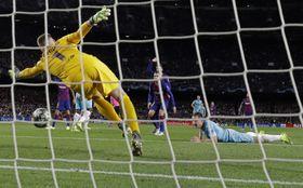 FC Barcelone - Slavia Prague, photo : ČTK / AP Photo / Emilio Morenatti