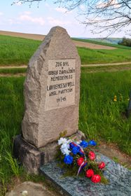 The memorial of Lawrence Saywell, photo: Petr1888, Wikimedia Commons, CC BY-SA 4.0