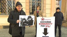 Veranstaltung der Plattform Bez komunistů.cz (Foto: ČT24)