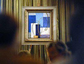 Frantisek Kupka's 'Abstract Composition', photo: CTK