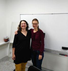 Kristýna Šlajsová y Kamila Dušková, foto: Enrique Molina