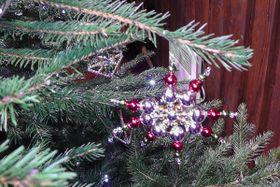 Los adornos navideños de Poniklá, foto: Dominika Bernáthová