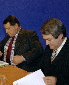 Jiří Paroubek aVojtěch Filip (vpravo), foto: ČTK