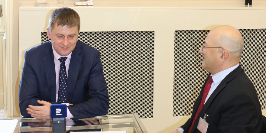 Tomáš Petříček, Freddy Valverde, foto: Dominika Bernáthová