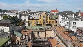 Azotea del Palacio Lucerna: vista panorámica de la capital, foto: Zuzana Filípková, Archivo de ČRo